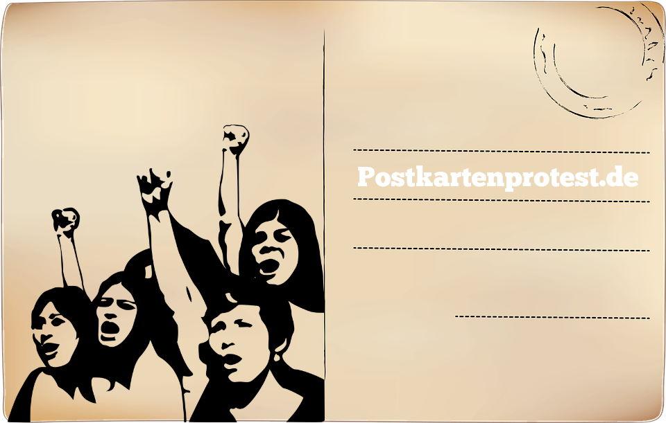 Postkartenprotest