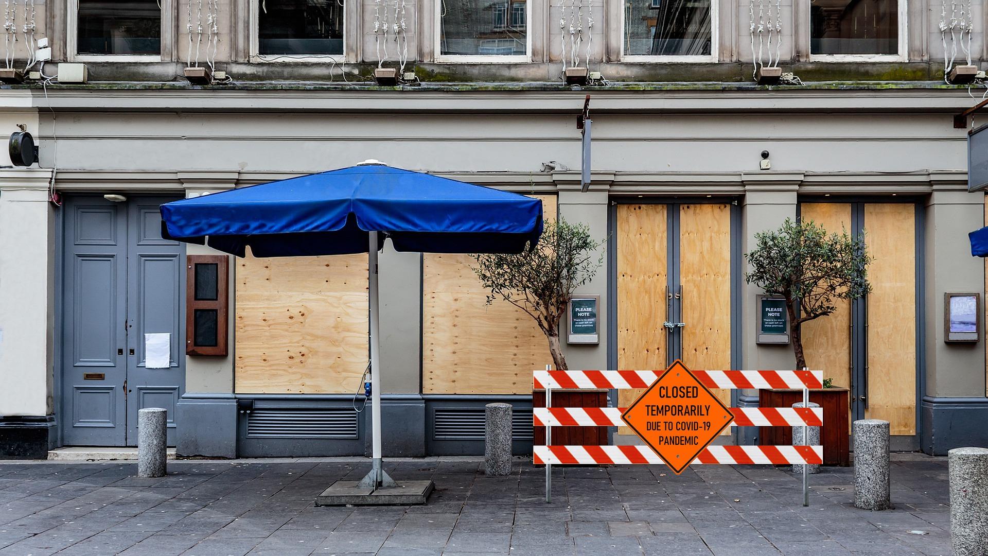 Restaurant wegen Covid19/Corona geschlossen
